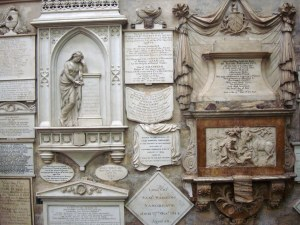 Bath Abbey Wall 2
