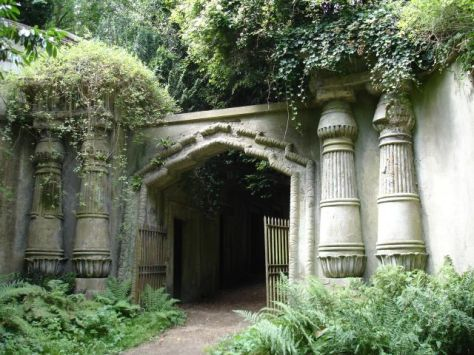 Entrance To High Gate Cemetery