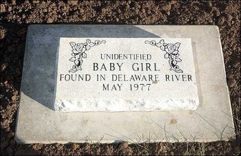 baby girl delaware river