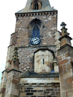 Dalkeith_St Nicholas_clock