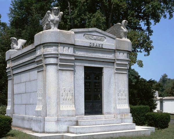 female winged_Drake Mausoleum
